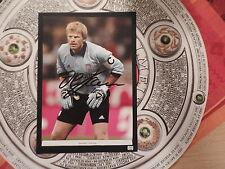 Oliver Kahn FC Bayern München Autogramm