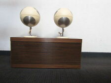 audiorama design retro rare grundig  box seventie's duo bass 302 and tweeters