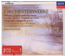 Debussy, Ravel: Orchestral Works (Musica orchestrale) / Ernest Ansermet CD Decca
