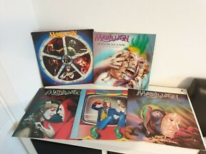"Marillion Vinyl Bundle x5 Joblot Collection 12"" Singles & 1 Album"