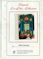 German Coca Cola Sprint Telephone Card 1997 Vintage Original