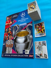 Figurine Topps Champions League 2020 21 20121 Album + Set Completo 582 Stickers