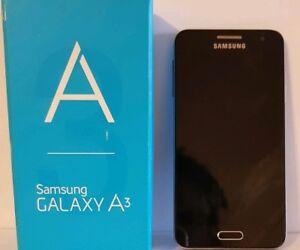 Samsung Galaxy A3 SM-A300FU - 16GB - Midnight Black (Unlocked) Smartphone.