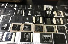Masonic Mason Leaders/Executives 1910-1934 of Benton Harbor Glass Slides picture