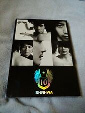 USED SHINHWA 9th ALBUM Special Limited Edition Official Number CD Photo Set