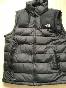Mens North Face 700 Black Body Warmer Size Large