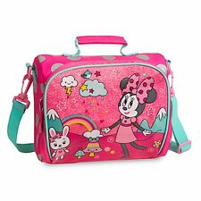 Disney Minnie Mouse Lunch Box Gift Superior Design - School Lunch Bag - Aust.