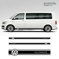 Volkswagen VW Transporter Side Stripe Decal California T4 T5 T6 Vehicle Graphic