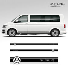 VOLKSWAGEN VW TRANSPORTER Side Stripe Decal California T4 T5 véhicule T6 graphique
