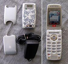 Sony Ericsson Z600 Flip Mobile Phone GOOD CONDITION! Butterfly (no W300 W Z Z20)
