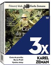 Karel Zeman (Cesta do Praveku, Baron Prasil, Vynalez zkazy) 3 x DVD collection