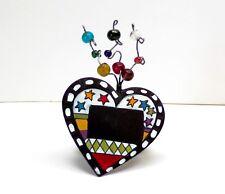 Shimmer Beaded Ring Checker Chalk Board Heart Bottle Wine Collar or Napkin Ring