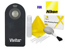 VIVITAR Photo Wireless Remote Control for Nikon D7200 D7100 D5300 D5200 D3300