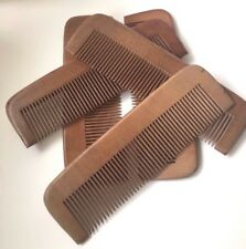Wooden Hair Comb Anti Static Massage Natural Care Brush Regular Tooth Handmade