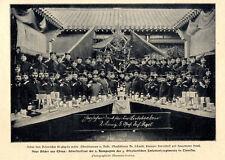 Silvesterfeier der 2.Komp.d.Ostasiatischen 5.Inf.Rgts. in Tientsin c.1901