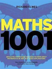 Maths 1001: Absolutely everything that matters in mathematics, Good Condition Bo