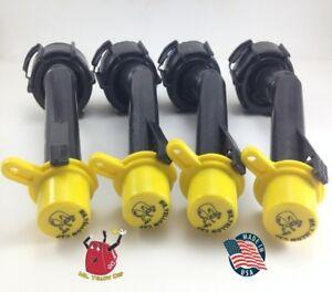 4 - Blitz Gas Can Nozzle Spouts Rings Caps Replacement Vintage 900094 900092 NEW