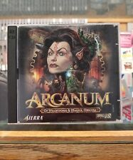 Arcanum: Of Steamworks & Magick Obscura (PC, 2001) 2-Disc Set VG Condition