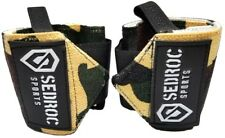 Weight Lifting Wrist Wraps Gym Crossfit Support Straps - Green Camo
