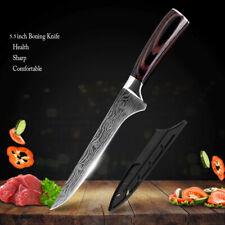 5.5'' Kitchen Boning Knife Japanese Damascus Pattern Stainless Steel Chef Knife