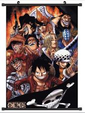 B3997 One Piece Luffy The Eleven anime manga Wallscroll Stoffposter 25x35cm