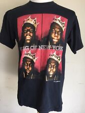 "NOTORIOUS BIG BIGGIE SMALLS ""King Of New York"" Official T-Shirt Size Medium"