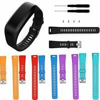 Silicone Replacement Band Bracelet Wrist Strap For Garmin Vivosmart HR W/Tool