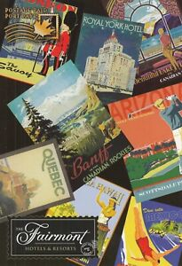 CANADA UX 120 - CST 7568 - PREPAID POSTAGE POSTCARD - HOTELS & RESORTS POSTERS
