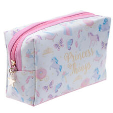 Unicorn Princess Make-Up Toiletry Toilette Travel Womens Ladies Girls Bag