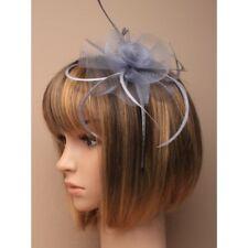 Feather Looped Headband Alice Band Fascinator Ladies Day Wedding Royal Ascot 15