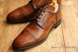 Men's Church's Taunton Brown Leather Cap Toe Derby UK 7.5 F US 8.5 EU 41.5
