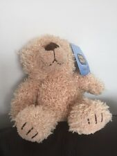 """CHAD VALLEY Curly bear teddy  SMALL 7"""" BEIGE SOFT CUDDLY TOY  CUDDLE CLUB  1B"""