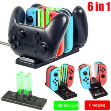 6 in 1 Controller Charger Charging Dock Station for Nintendo Switch Joy-Con