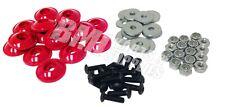 Go Kart Racing Red Plastic Washer for Fiberglass Body Mounting Kit Set New