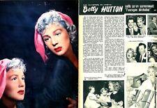 Coupure de presse Clipping 1973 Betty Hutton (4 pages)