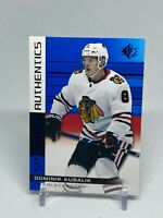 Dominik Kubalik 2019-20 Upper Deck SP Rookie Authentics BLUE #123 Blackhawks RC