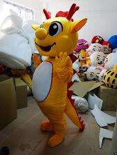 Dragon Mascot Costumes Parade Halloween Professional Unisex Cartoon Dress Outfit