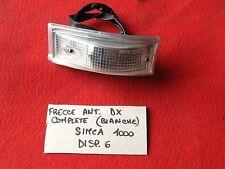 SIMCA 1000 - RALLY/ FANALINO ANTERIORE DX/ FRONT LIGHT RIGHT CHIARO
