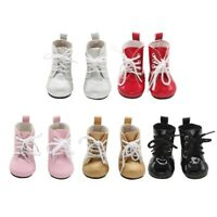 1 Pair Mini Shoes Boots For 18 Inch Doll Toy Girl & Boy Dolls Accessorie A+