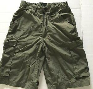 BSA Boy Scout green uniform shorts men size XS excellent cond.