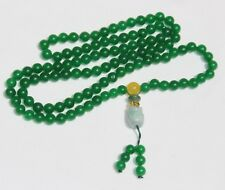 Green Jade Pryers Beads Necklace