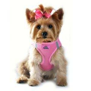 American River Pink Dog Harness Ultra Choke-Free Mesh  -  XXS-3XL