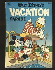 Walt Disney' Vacation Parade # 3 - Dell Giant VG/Fine Cond.