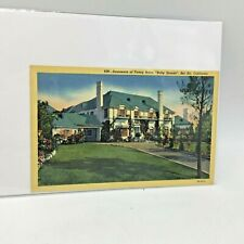 HOME OF FANNY BRICE BEL AIR, CA POSTCARD