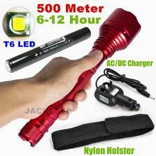 Small Sun CREE XM-L T6 LED 2000LM Rechargeable Tactical Flashlight 18650 Torch