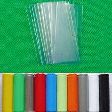 20PCS 18650 battery wraps heat shrink Clear Color Practical Gadget DG