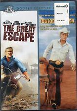 The Great Escape / Junior Bonner [Double Feature] (Dvd, 2008) Steve McQueen ~New