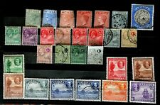 ANTIGUA 1882-1932 SMALL M/U COLLECTION WITH SEVERAL VERY USEFUL VALUES (28)