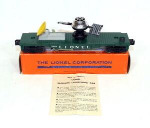 Postwar Lionel 3519 Satellite Launching Car~Mint Unrun~w/Nice OB & Instructions