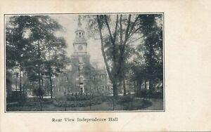 PHILADELPHIA PA - Independence Hall Real View - udb (pre 1908)